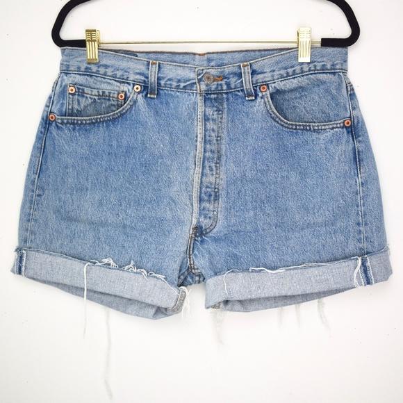 9a8b1c4a130 Levi's Shorts | Vintage Levis 501 High Waisted Cut Off | Poshmark
